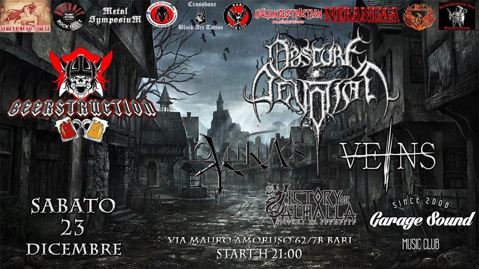 live at Bari 23 December 2017